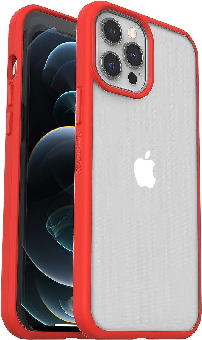 sin embalaje Otterbox Sleek Case funda antica/ídas fina para Apple iPhone 12 Pro Max transparente//negra