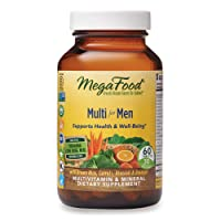 MegaFood, Multi for Men, Supports Optimal Health and Wellbeing, Multivitamin and...