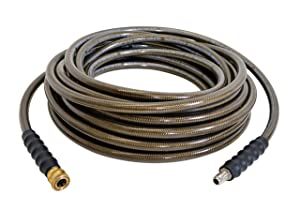 "SIMPSON Cleaning Monster 41028- 3/8"" x 50' 4500 PSI Cold Water Replacement/Extension Hose"