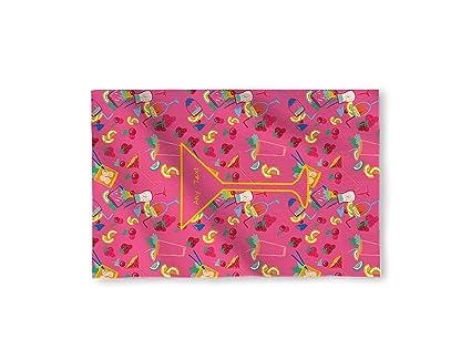 """58 """"x 39"""" diseño de oscuro rosa cóctel personalizado microfibra toalla de playa"""