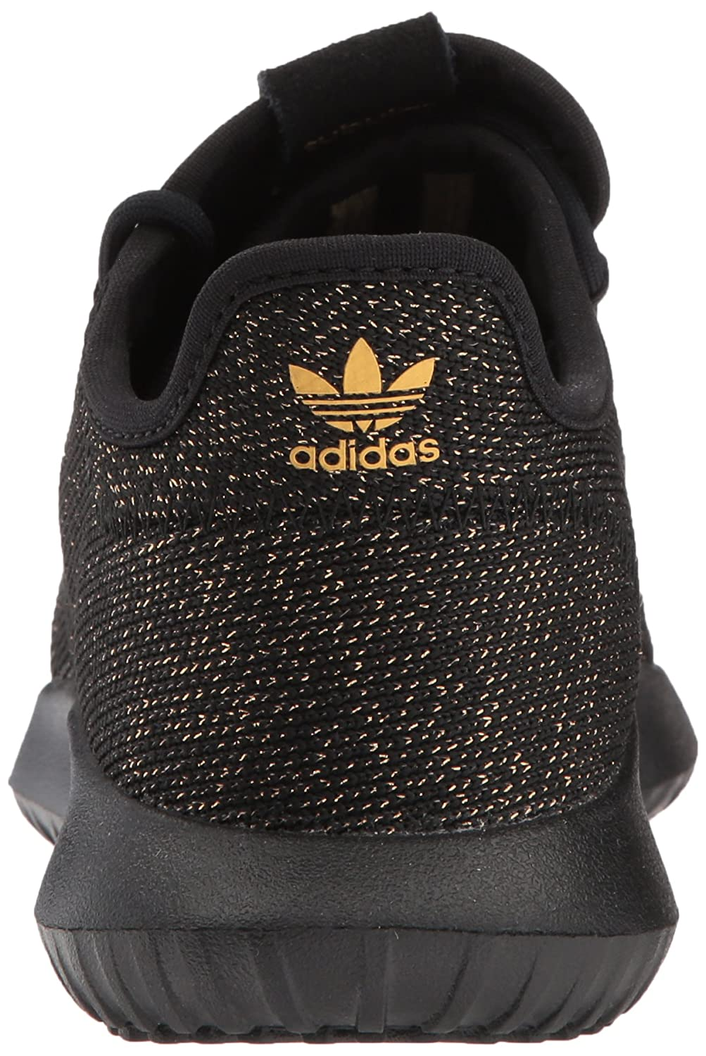 Adidas Originals Kids Black, tubular sombra J sneaker, zapatilla