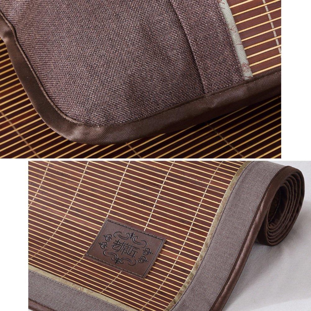 WENZHE Bambus Matratzen Sommer-Schlafmatten Strohmatte Strohmatte Strohmatte Teppiche Falten Sie Den Typ Beidseitig Glatt Zuhause Schlafzimmer, 7 Größen (größe   1.2×1.95m) B07CNT1H9J Luftmatratzen Exportieren 76d796