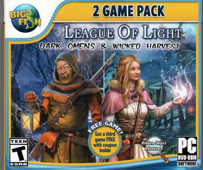 Amazon Com League Of Light Dark Omens Wicked Harvest Hidden Object Pc Game New Bonus Video Games