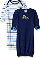 Gerber Boys' 2 Pack Gown