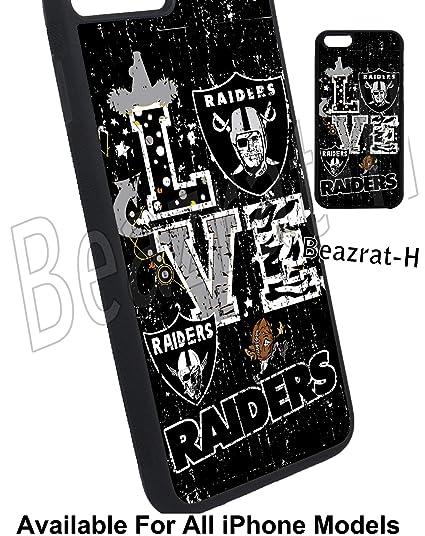 half off d5dc6 f50df Amazon.com: Sport Team Case Raiders iPhone Case, for iPhone Models ...
