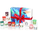 Honeyrain Luxury Candle Gift Set with 12 Scented Wax Candles. Scented Candles Gift Sets Are Ideal Christmas Gifts for Women, Great Gifts for Her or Perfect Women's Gifts