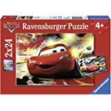 Ravensburger Disney Cars: Cars Grand Entrance (2 x 24-Piece) Puzzles in