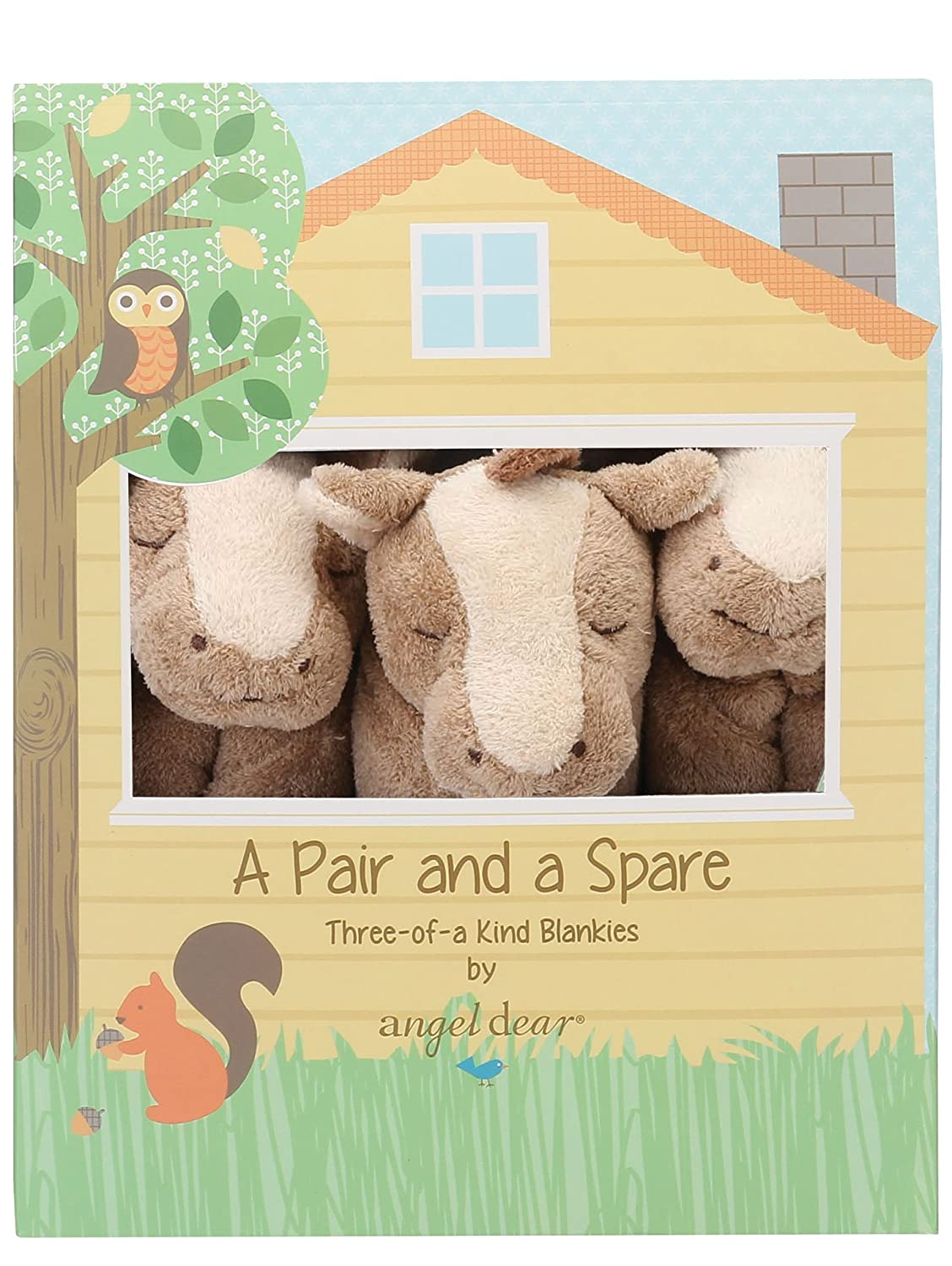 Angel Dear Pair And A Spare, Pink Pony 1165s