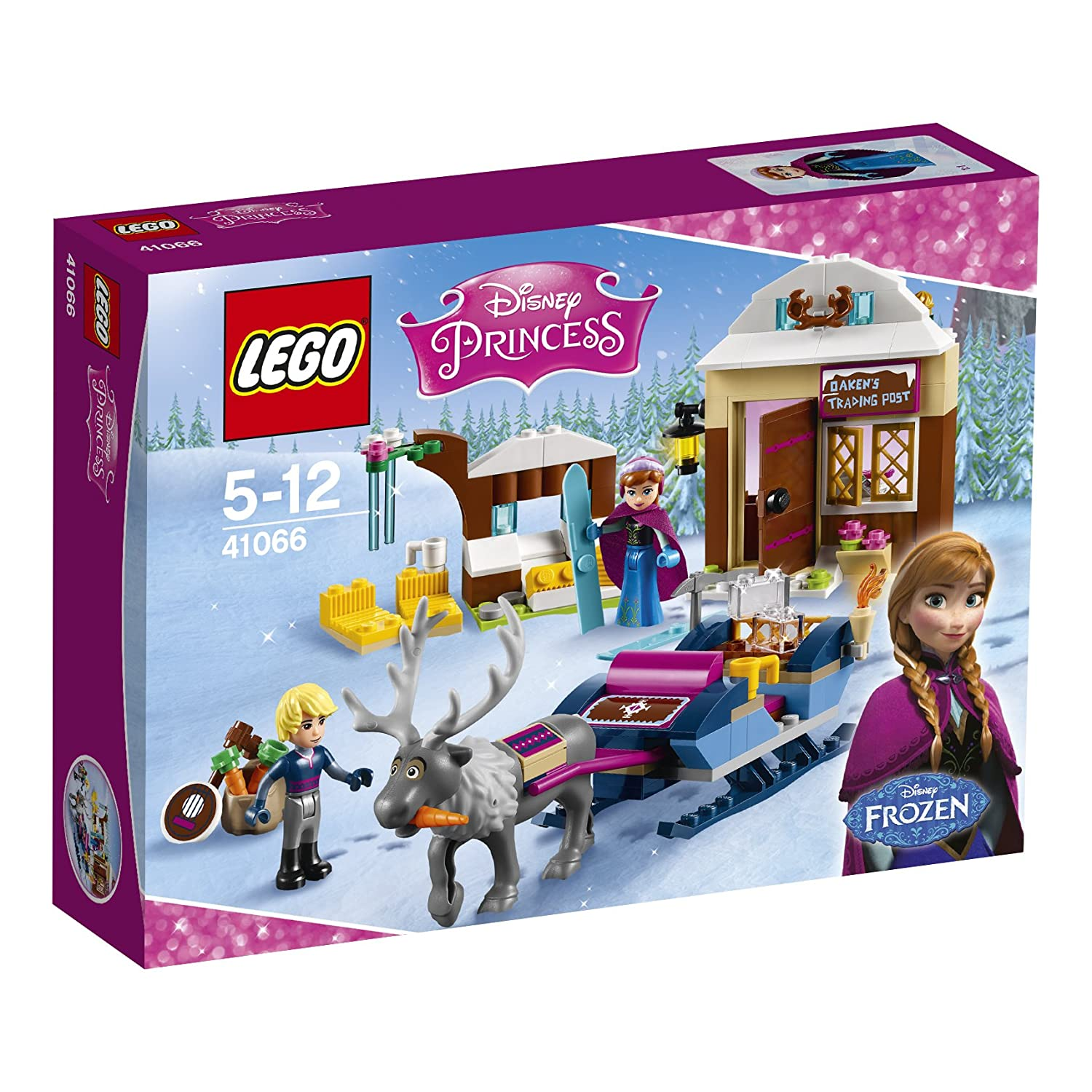 Construction D 41066 Traîneau Princess Le Lego Jeu De Disney dX8qpxgp