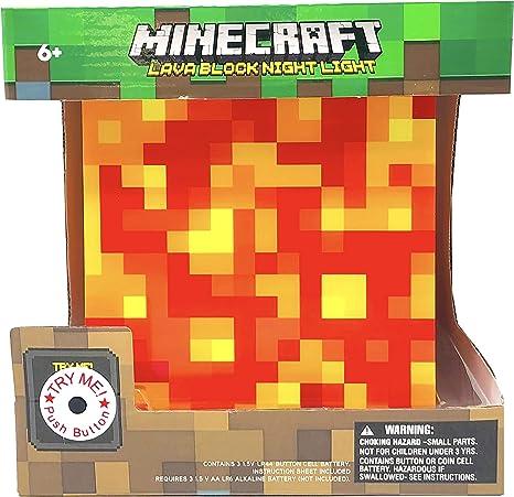 Amazon.com: Minecraft - Lámpara de lava: Toys & Games