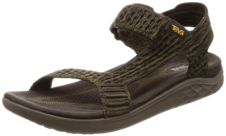 Teva - Men's Terra-Float 2 Knit Universal - Black - 7 B078HF4DFP 10 M US|Olive/Bungee Cord