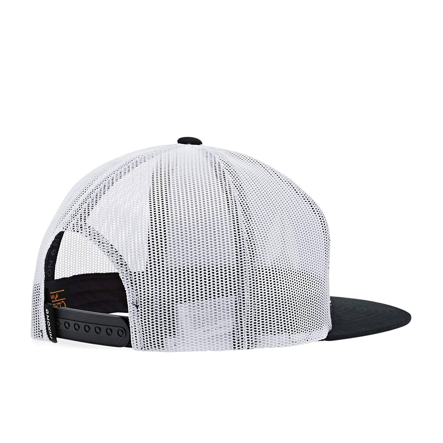 Nixon Deep Down Trucker Hat Black/White/Black One Size: Amazon.es ...