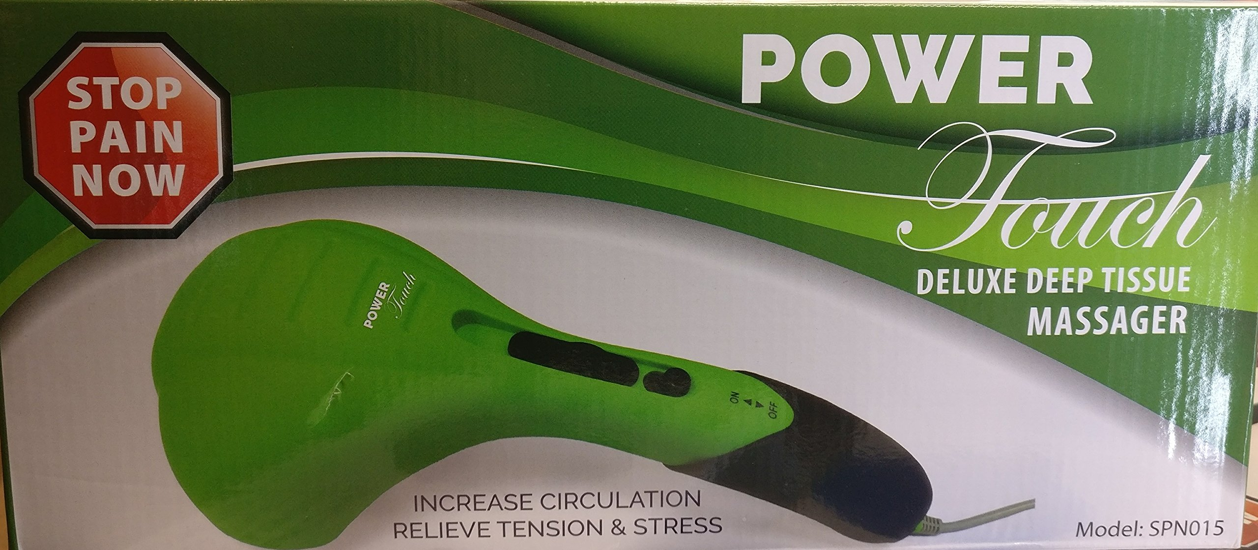 Power Touch Deluxe Deep Tissue Massager Green