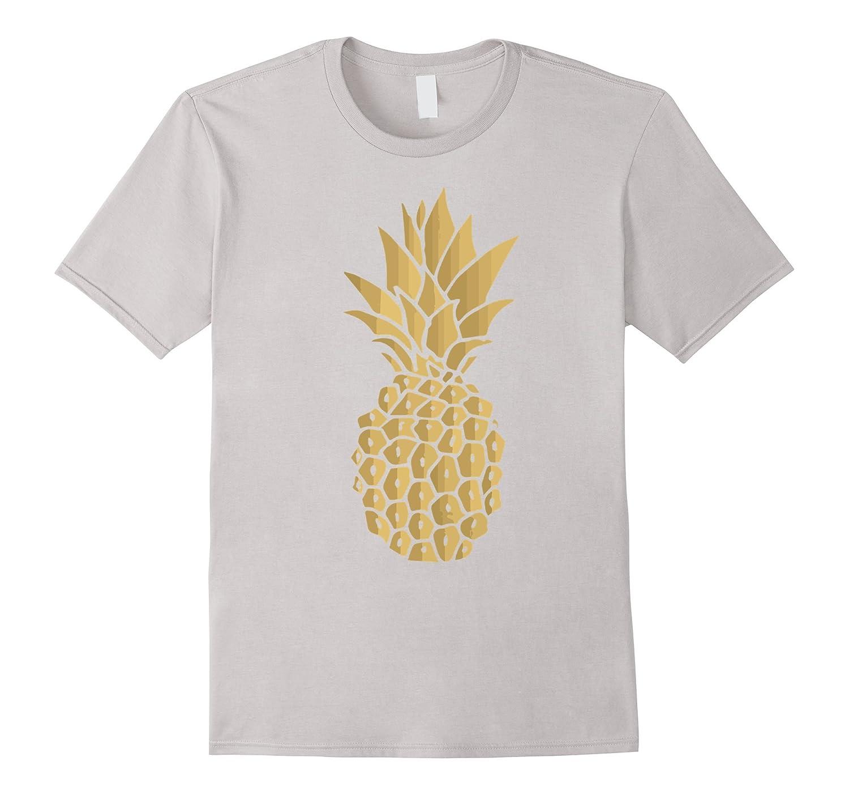 795d3758d8f5 Gold Pineapple Shirt Funny Hawaii Shirt For Men-FL - Sunflowershirt