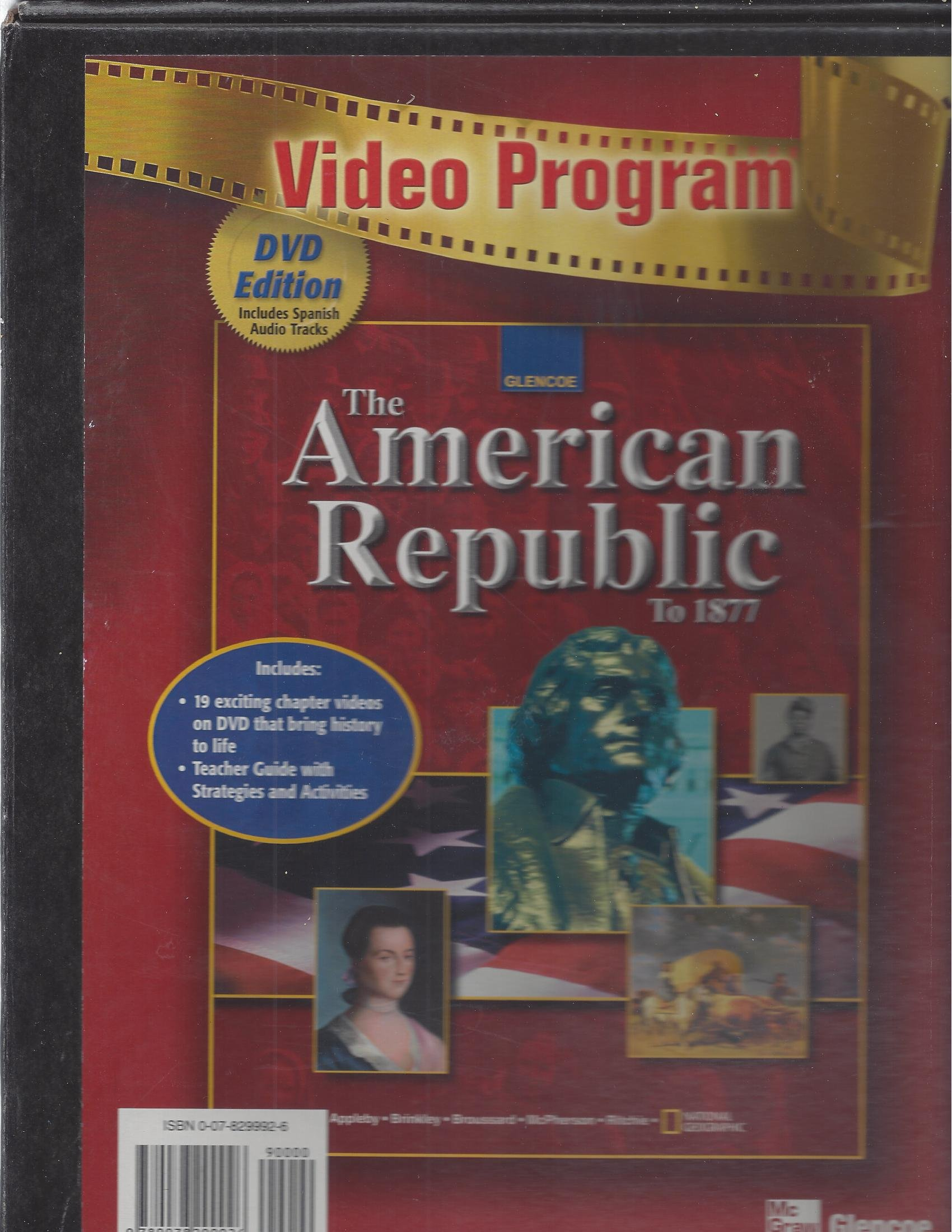 Download American Republic to 1877, Video Program, DVD pdf