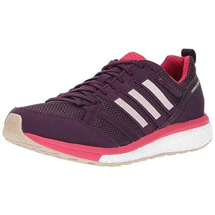 new arrival 7e605 90849 adidas Women s Adizero Tempo 9 w Running Shoe, Red Night Ice Pink Energy ...