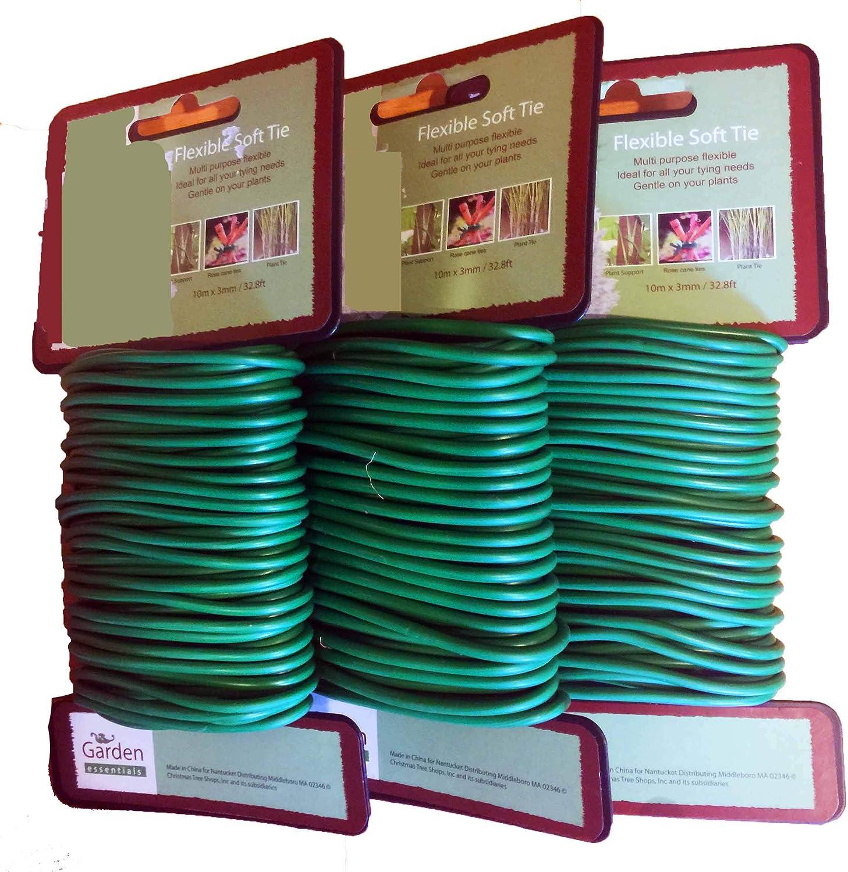 Bert's Garden Soft Wire Twist Tie 32.8 Foot Each (3)