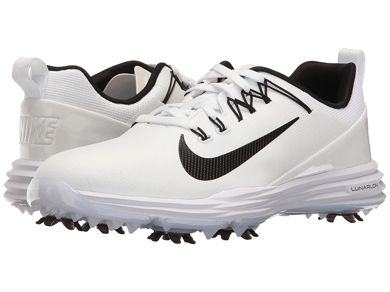 (ナイキ) NIKE レディースゴルフシューズ靴 Lunar Command 2 White/Black/White 8.5 (25.5cm) D - Wide B078Q19KJK