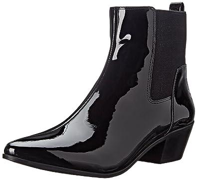 Nine West Damens's Travers Synthetic Boot, schwarz schwarz 8d53c9