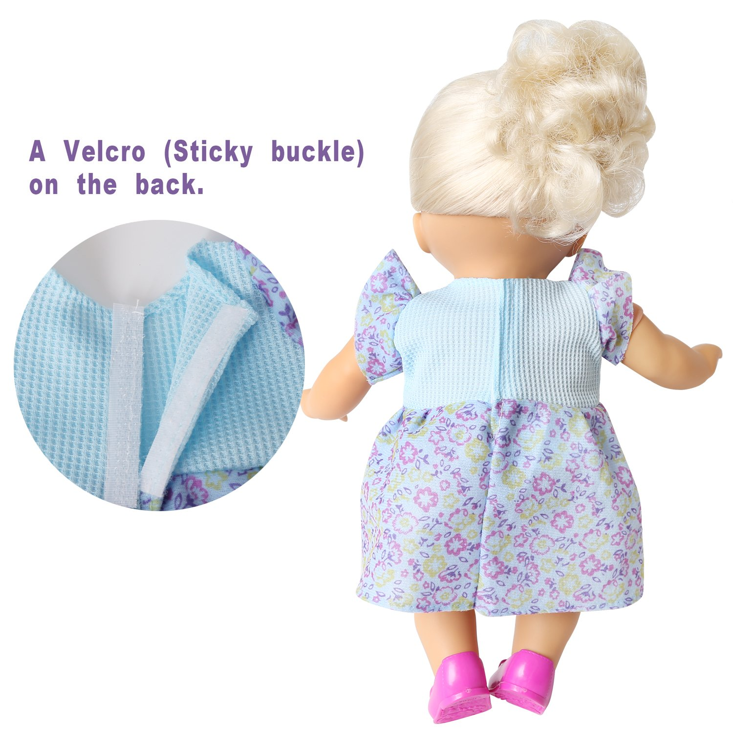 baby alive clothes Set of 6 For 12-14-16 Inch Alive Lovely Baby Doll ...