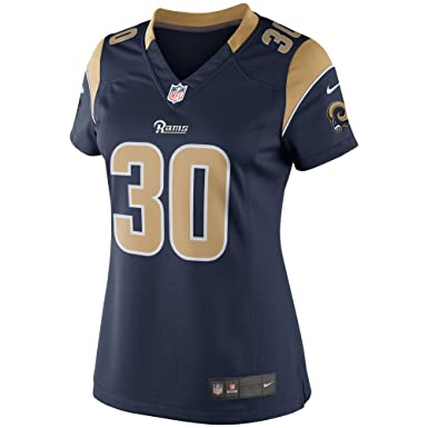 Women s Large Todd Gurley Los Angeles Rams Nike Stitched Limited Ladies  Jersey - Navy Blue   db7999f081