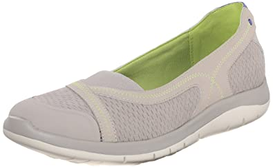 Cobb Hill Rockport Womens FitSpa Flat Taupe