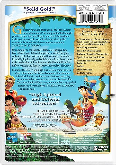 El Dorado Credit Card >> Amazon Com The Road To El Dorado Kevin Kline Kenneth Branagh