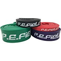 P.E.Field Pull Up Assist Bands - Exercise Resistance Bands - Heavy Duty& Durable - Mobility & Powerlifting Bands - Perfect for Crossfit, Body Stretching, Resistance Training - Single Band