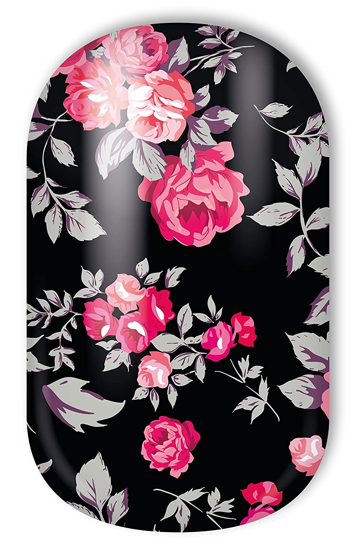 Miss Sophie\'s rot-schwarz Nagel-Folien Sleeping Beauty: Nagel-Design ...