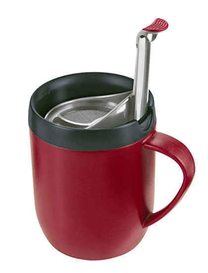 Zyliss Mug Hot Mug Hot Zyliss CafetiereRed P0XO8nwk