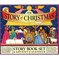 The Story of Christmas Story Book Set and Advent Calendar: Story Book Set & Advent Calendar