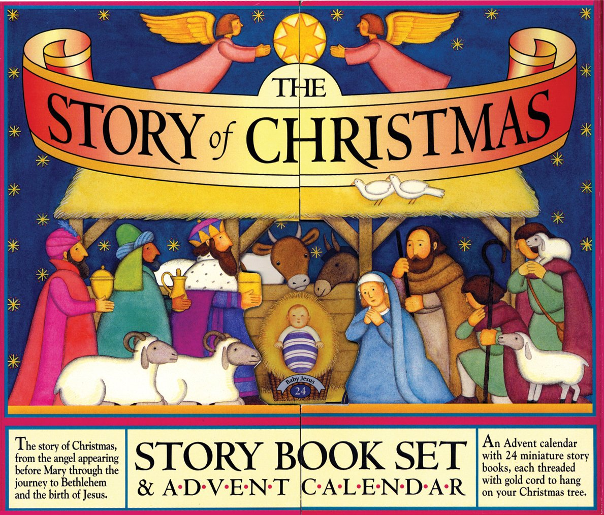 Amazon.com: The Story of Christmas Story Book Set and Advent ...