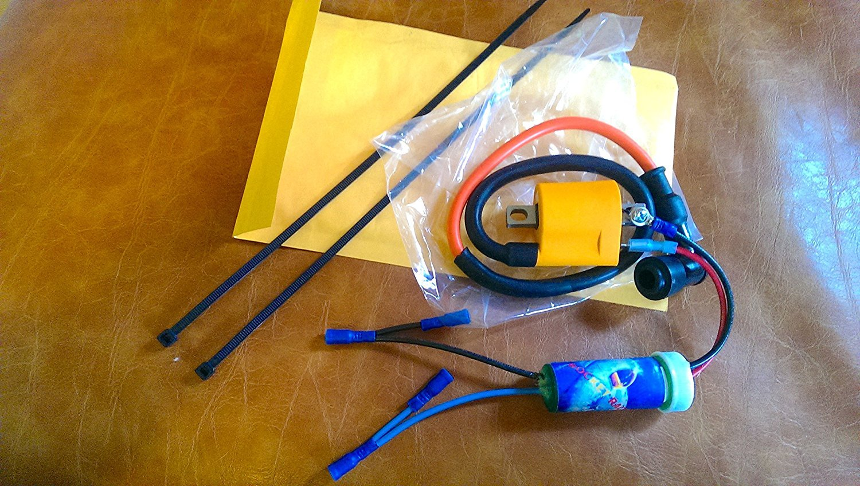 ECU Ignition Black Rev Box Yamaha Raptor 80 2002 2003 2004 2005 2006 CDI