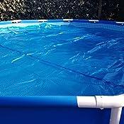 Bestway 58172 - Cobertor solar Manta Térmica para piscinas Steel ...