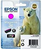 Epson T2613 Tintenpatrone Eisbär, Singlepack, magenta