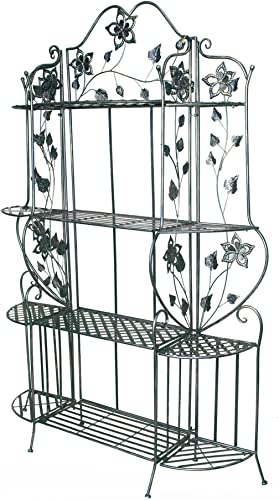 Heather Ann Creations Piper Large Bakers Rack