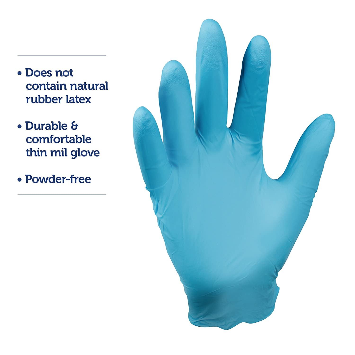Amazon.com: Kimberly Clark Safety 57371 Nitrile Kleenguard G10 Gloves,  Small, Blue (Pack of 100): Industrial & Scientific