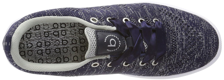 Bugatti (Dark Damen 421407046969 Sneaker Blau (Dark Bugatti Blue/ Silver) d28b10