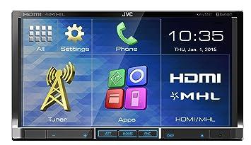 JVC KW-V51BTE - Cargador de CD para coche (USB, HDMI, Radio ...
