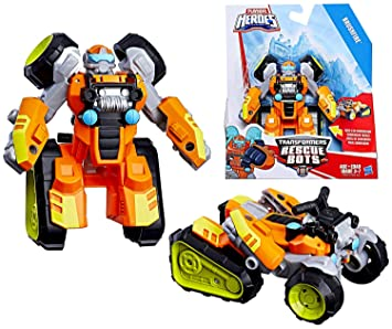 Amazon Com Brushfire The Robot To Atv Playskool Heroes Transformers