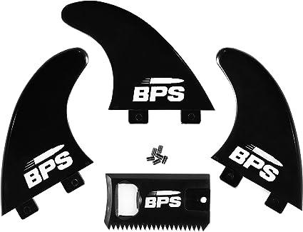 Surfboard FCS// Surfboard Fins 3 Fins G5 Black /&White Thruster Fin Set Up