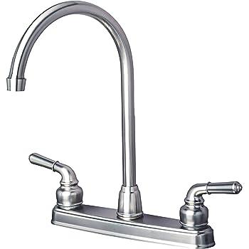 Amazon.com: Dura Faucet (DF-PK330HC-SN) J-Spout RV Kitchen
