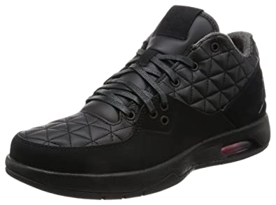 a51ed166a1d4e3 Image Unavailable. Image not available for. Color  Nike Men s Jordan Clutch  Basketball Shoe Black Black-Gym Red 10.5