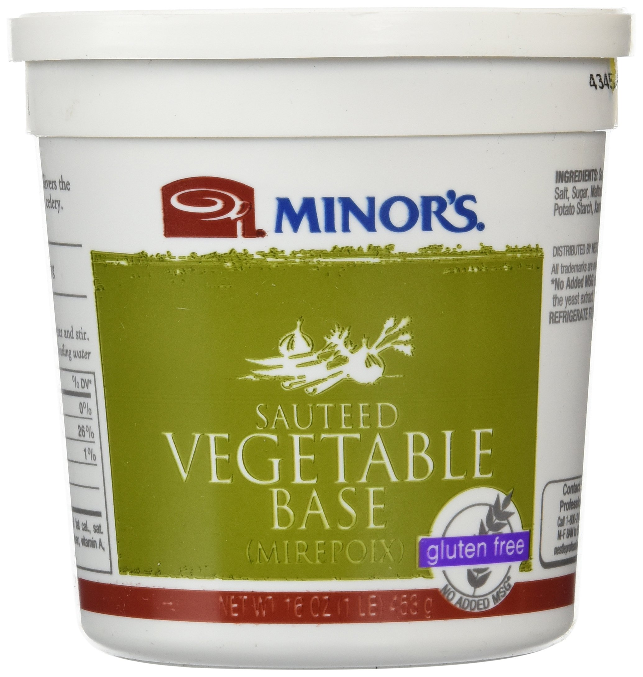 Minor's Sauteed Vegetable Base, 16 Ounce