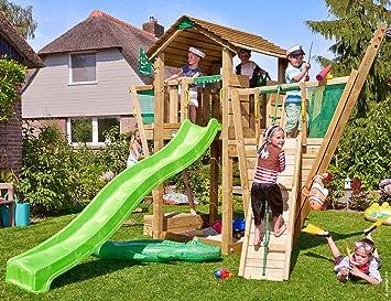 Cottage Verde Para Infantiles De Madera Jungle Gym Boat Parques TlXOPwZkiu