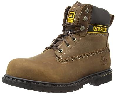 Caterpillar Holton S3, Chaussures de Sécurité homme Marron (Coffee Brown)  40 EU