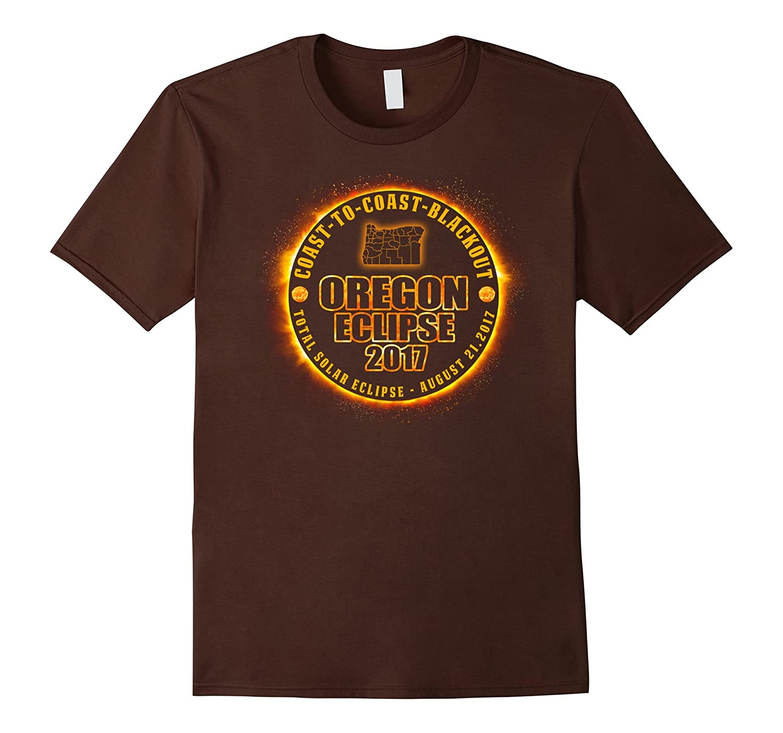 Coast To Coast Blackout Oregon Eclipse 2017 T-shirt