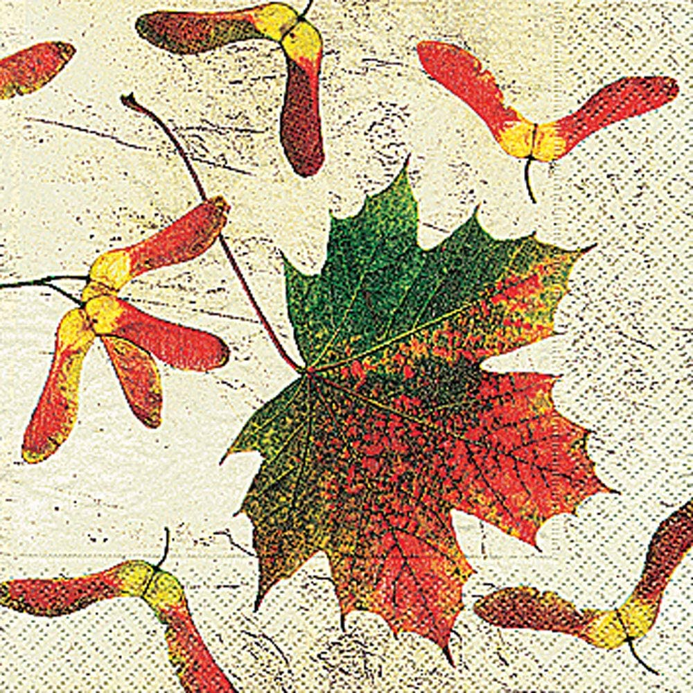 Eco Autumn in the Country Thanksgiving Holiday Party Paper Beverage Napkins