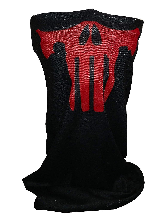 Icon Sportswear Themed Neck Gaiter Balaclava Punished Red Neck Warmer Neck Warmer