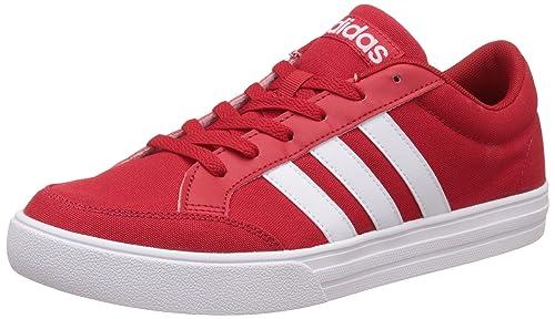 Adidas Herren Vs Set Turnschuhe, Rot (Escarl Ftwbla ... Ftwbla), 43 EU ... Ftwbla 620d26